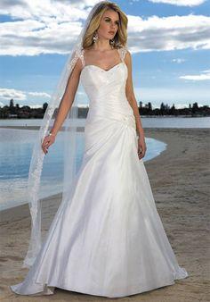 beach wedding dresses - 1