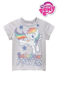 04e2f5ad Buy Grey Rainbow Power My Little Pony T-Shirt (3mths-6yrs) from