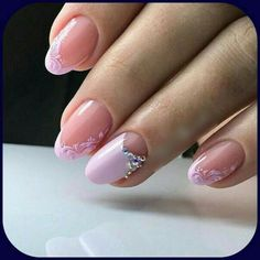 Delicate French Manicure in a Trend This Summer 2018