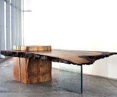 Raw Wood Furniture Designs by John Houshmand