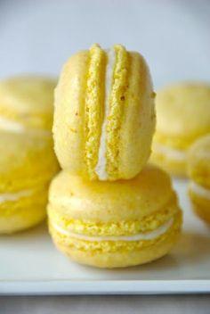 Yellow macaroons