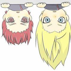 Akatsuki ~ Sasori and Deidara Gaara, Naruto Uzumaki, Anime Naruto, Boruto, Sasori And Deidara, Deidara Akatsuki, Naruto Gaiden, Naruto Cute, Kakashi