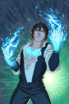 Commish - Mantle of the Phoenix by Harseik.deviantart.com on @DeviantArt