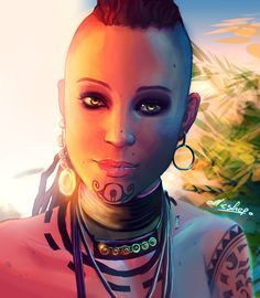Citra Talugmai - Far Cry 3 by ellieshep