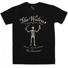 Inspired By #BlackSails - Walrus Ship Mens T-shirt from 8Ball.co.uk