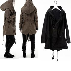 Mens Indie Unique Over Size Rick Design Mod Wire Loose Big Owens Feield Jacket   eBay