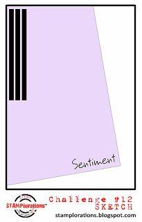 card sketch #12