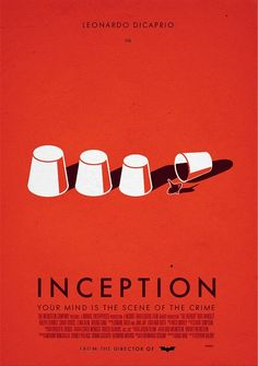 Inception by dioxyde - Graphic Design - movie poster film cinema minimalist