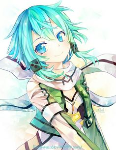 Sinon - Gun Gale Online - Sword Art Online II my fave character She is the best in my opinion idk she's cute and she's boss