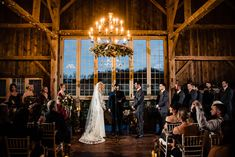 Lovely autumn ceremony in the Loft in the Manor Barn. Photo Credit: Cory from Morby Photography House Property, Twinkle Lights, Photo Credit, Wedding Ceremony, Barn, Chandelier, Loft, Wedding Photography, Ceiling Lights