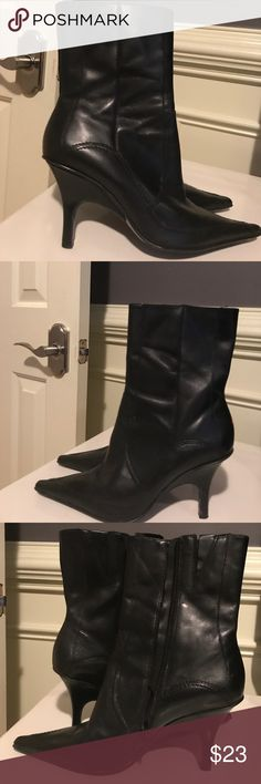 Black Ankle Boots Leather made in Brazil Black Ankle Boots Leather made in Brazil Shoes Ankle Boots & Booties