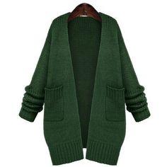 0a779b185ee0 2017 Women Long Sleeve Knitted Sweater Autumn Winter Crochet Cardigan  Casual Long Wool Sweater Jacket Plus Sizes