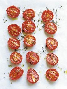 Gekonfijte tomaatjes | ELLE Eten