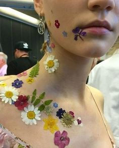Sarah Mower, Vogue.com Chief Critic: Real flowers at Preen by Thornton Bregazzi channeling witchy power by Val Garland.