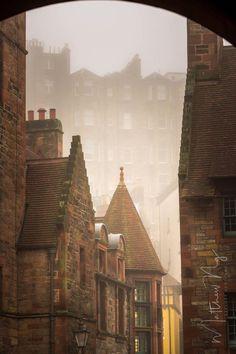 Dean's Village in Edinburgh