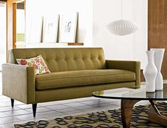 DWR bantam sofa--also in white and red