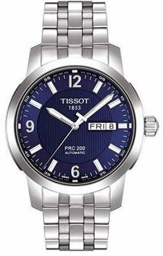 Tissot PRC 200 Stainless Steel Mens Watch T014.430.11.047.00 Tissot. $439.00