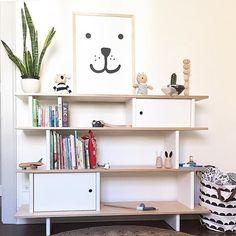 Oeuf NYC Oeufnyc.com Mini Library Storage Unit Bookcase Bookshelf Kids  Furniture