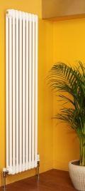Apollo Roma vertical column radiator from 'designer warmth radiators'