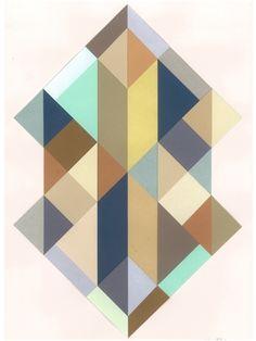 """BERIT MOGENSEN LOPEZ -   """"BILLEDE   Nr. 2"""" Framed Art"""