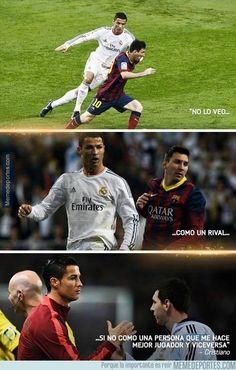 724020 - Cristiano Ronaldo habla sobre Messi
