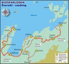 Biosfärleden - vandring - Skaraborgsleder