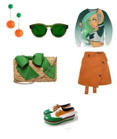 """""""Без названия #5"""" by mariagavrina on Polyvore featuring мода, Proenza Schouler, Kate Spade и J.W. Anderson"""