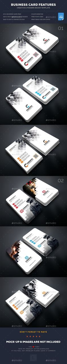 Buy Photography Business Card Bundle by UXcred on GraphicRiver. FEATURES: Easy Customizable and Editable Business card in with bleed CMYK Color Design in 300 DPI Resolut. Business Card Maker, Simple Business Cards, Professional Business Cards, Business Card Design, Business Ideas, Id Card Design, Photography Business Cards, Photography Jobs, Visiting Card Design