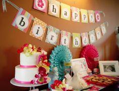 Luau birthday party. #birthday #party