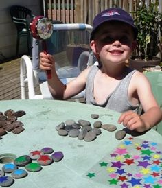 Nature Crafts for Kids Memory Game - Children's nature game
