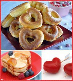Heart Shaped Food Ideas for Valentine's Day