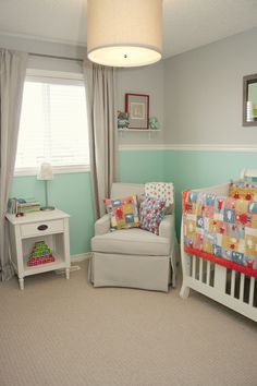I like the idea of doing gray and teal...especially since Nancy took teal and yellow! ;)