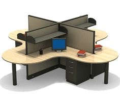 Modular furniture design systems at Office Space Planners