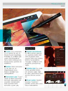 """Bunu Haziran 2014 Retina Display 022 içindeki """"Kendin Yap: iPad sanatı"""" öğesinde gördüm."""