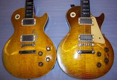 Which Aniline dyes to achieve same colour as Peter Green burst? - MyLesPaul.com