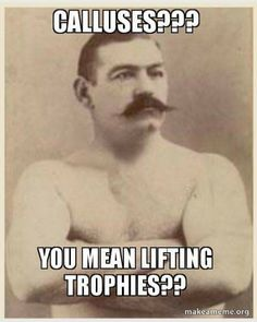 Right... Lifting trophies lol