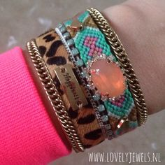 We LOVE !! Ibiza bracelets gemstone :-) ! Fashion 2014