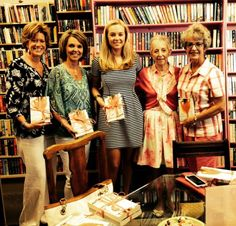 Love doing a Georgia book signing!! #dearcarolina