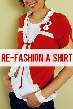 How Does She…refashion a shirt?