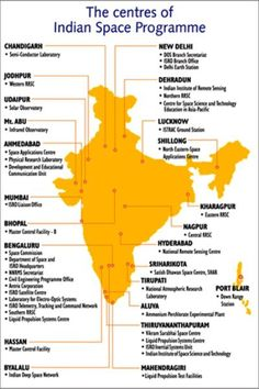 From where do Indian space scientists operate to create those amazing satellites? The centres of the Indian space program (via Maths Algebra Formulas, Isro India, Mars Orbiter Mission, Indian Space Research Organisation, Relationship Astrology, Understanding Quotes, Galaxy Photos, Space Engineers, Study Techniques