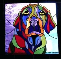 Stained Glass Animals Ideas For You Stained Glass Designs, Stained Glass Panels, Stained Glass Projects, Stained Glass Patterns, Stained Glass Art, Broken Glass Art, Sea Glass Art, Shattered Glass, Mosaic Art