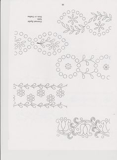 84 Chain Stitch Embroidery, Embroidery Works, Embroidery Transfers, Lace Embroidery, Embroidery Stitches, Floral Embroidery Patterns, Embroidery Designs, Stitch Head, Hungarian Embroidery