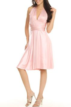 Issue New York Allie Dress In Dusty Pink