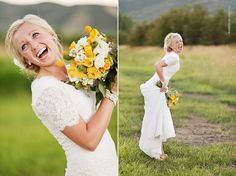 This is the kind of bride I want to be!! Happy fun and sooo in love
