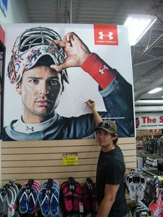 Carey Price for Under Armour