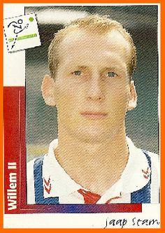 JAAP STAM  Con il Willem ii gioco' nel 1995, 19 partite e 1 gol quella del 4-0 contro il Fortuna Sittard. La stagione successiva a 24 anni si traferi' al PSV Eindhoven