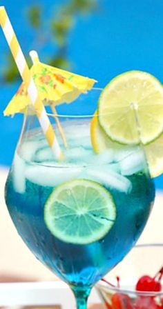 Tropical Blue Sangria Recipe