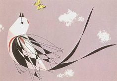 Charley Harper's Scissor-tailed Flycatcher...love this print:
