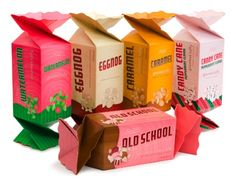 Doces. Always loved these boxes. They're relatively large, heavy stock and quite durable.