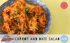 Carrot + Date Salad | Morocco | Around the World in 80 Days | Moomookachoo